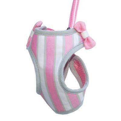 EasyGO Soft Step-In Dog Harness - Sweetbow Pink
