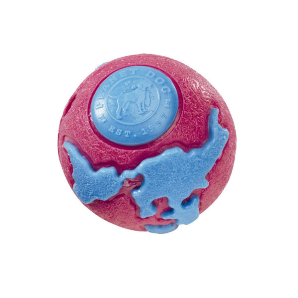 Planet Dog Orbee Tuff Orbee Ball - Pink/Blue
