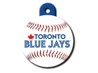 Toronto Blue Jays MLB Custom Engraved Dog ID Tag - Round