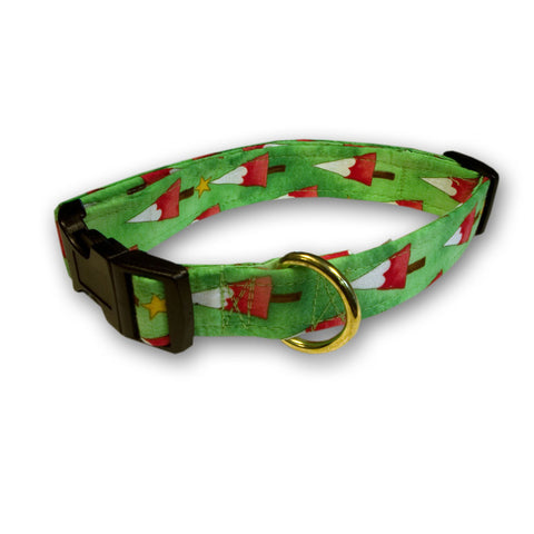 Elmo's Closet Nordic Christmas Dog Collar
