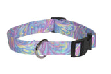 Elmo's Closet Pastel Time Dog Collar