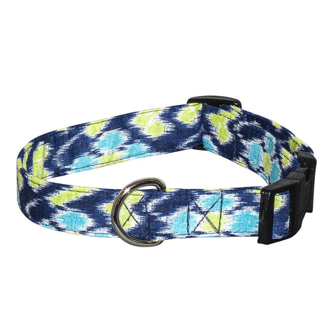 Elmo's Closet Ikat Dog Collar