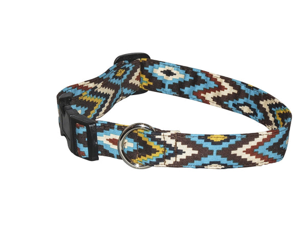 Elmo's Closet Mesa Verde Dog Collar