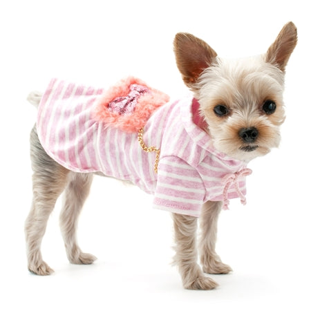 Fuzzy Purse Dog Dress