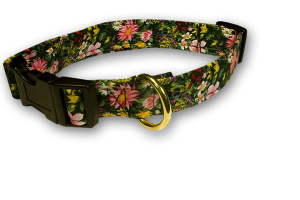 Elmo's Closet Nature's Garden Dog Collar