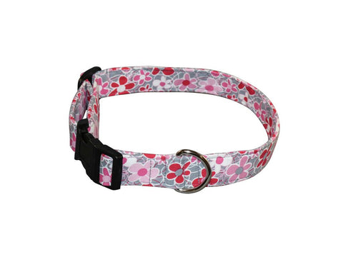 Elmo's Closet Happy Daisies Dog Collar