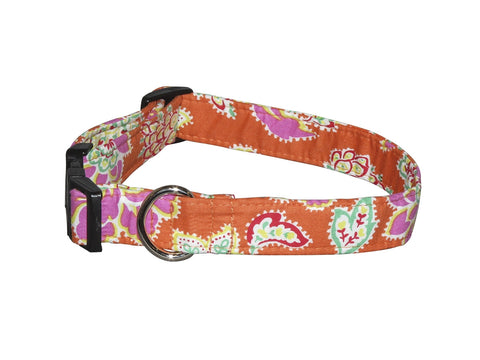 Elmo's Closet Lily's Bouquet Dog Collar
