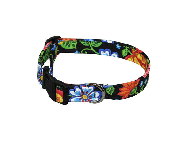 Elmo's Closet Alpine Garden Dog Collar