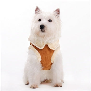 Furry Vest Dog Harness - Large (Outlet Sale Item)