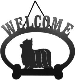 Sweeney Ridge Yorkshire Terrier Welcome Sign