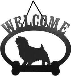 Sweeney Ridge Norfolk Terrier Welcome Sign