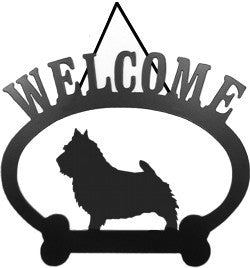 Sweeney Ridge Norwich Terrier Welcome Sign