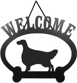 Sweeney Ridge English Setter Welcome Sign