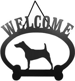 Sweeney Ridge Fox Terrier Welcome Sign