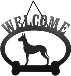 Sweeney Ridge Great Dane Welcome Sign