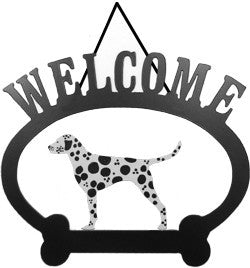 Sweeney Ridge Dalmatian Welcome Sign