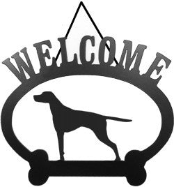 Sweeney Ridge English Pointer Welcome Sign
