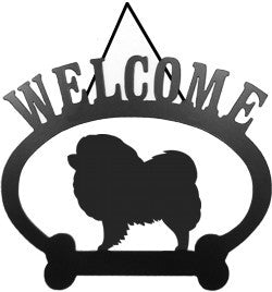 Sweeney Ridge Chow Chow Welcome Sign