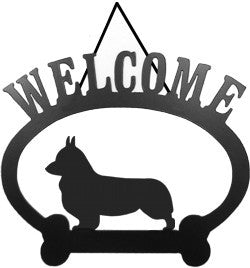 Sweeney Ridge Corgi Pembroke Welcome Sign