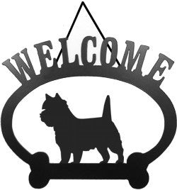 Sweeney Ridge Cairn Terrier Welcome Sign