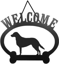 Sweeney Ridge Chesapeake Bay Retriever Welcome Sign
