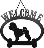 Sweeney Ridge Bichon Frise Welcome Sign