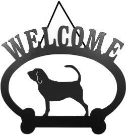 Sweeney Ridge Bloodhound Welcome Sign