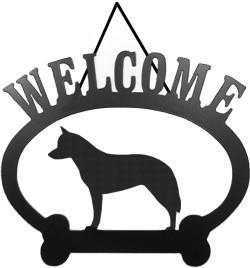 Sweeney Ridge Australian Cattle Dog Welcome Sign