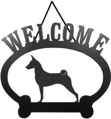 Sweeney Ridge Basenji Welcome Sign