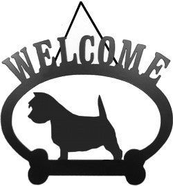Sweeney Ridge Westie Welcome Sign