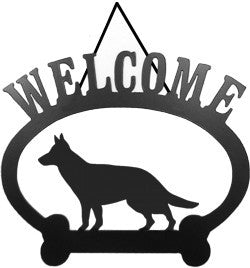 Sweeney Ridge German Shepherd Welcome Sign