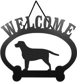 Sweeney Ridge Labrador Retriever Welcome Sign