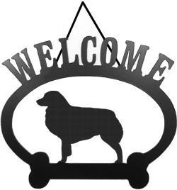 Sweeney Ridge Australian Shepherd Welcome Sign