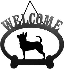 Sweeney Ridge Chihuahua Welcome Sign