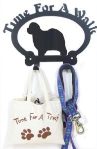 Sweeney Ridge Old English Sheepdog Dog Leash Hook