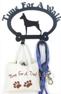 Sweeney Ridge Miniature Pinscher Dog Leash Hook