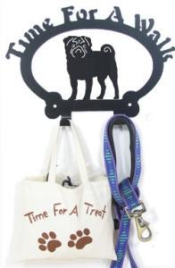 Sweeney Ridge Pug Dog Leash Hook