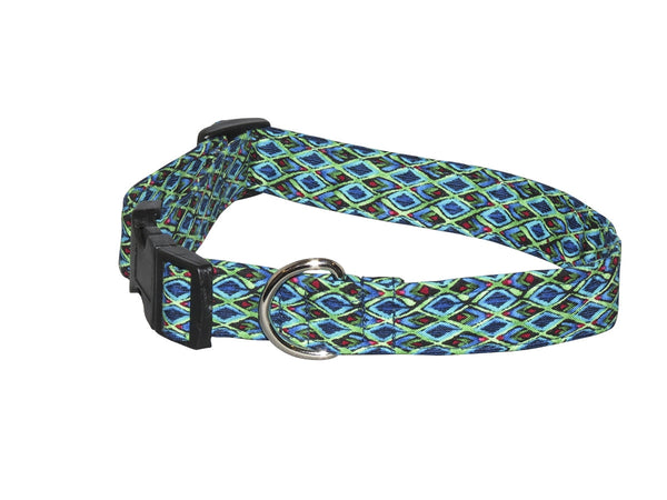 Elmo's Closet Diamond Illusions Dog Collar