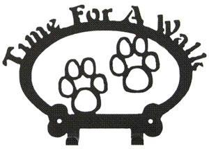Sweeney Ridge Paw Prints Dog Leash Hook