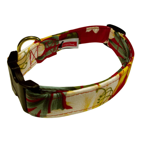 Elmo's Closet Hawaiian Tropics Dog Collar