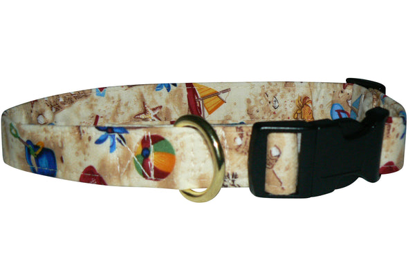 Elmo's Closet Beach Toys Dog Collar