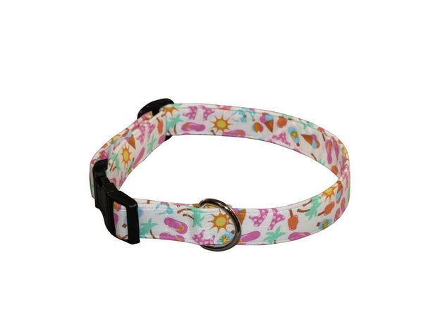 Elmo's Closet Beach Time Dog Collar