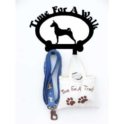Sweeney Ridge Basenji Dog Leash Hook