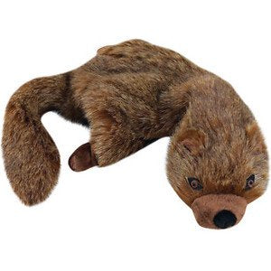 Unstuffies Dog Squeaky Dog - Mongoose