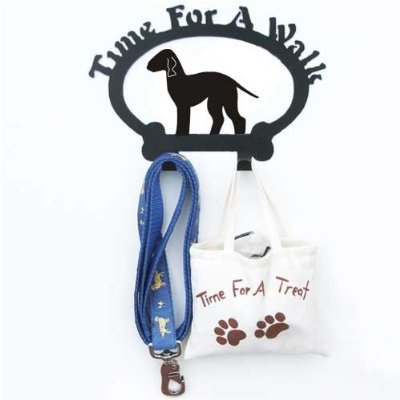 Sweeney Ridge Bedlington Terrier Dog Leash Hook