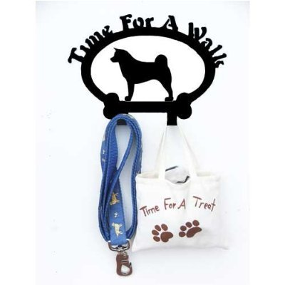 Sweeney Ridge Akita Dog Leash Hook