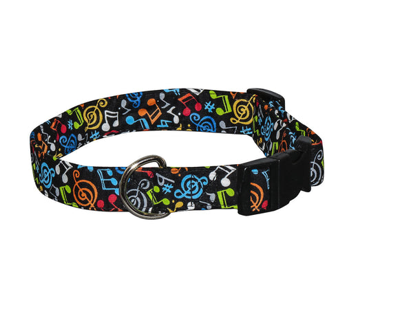 Elmo's Closet Jazz Music Dog Collar