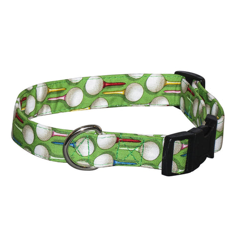 Elmo's Closet Par For The Course Dog Collar