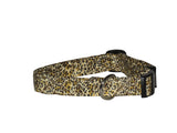 Elmo's Closet Cheetah Dog Collar
