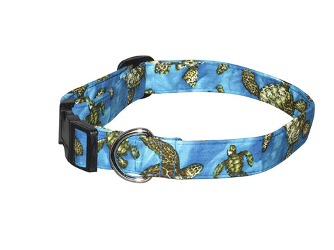 Elmo's Closet Turtle Bay Dog Collar